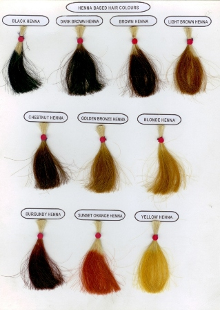 Natural Colors For Gray A Henna Based Hair Color For Gray Baka